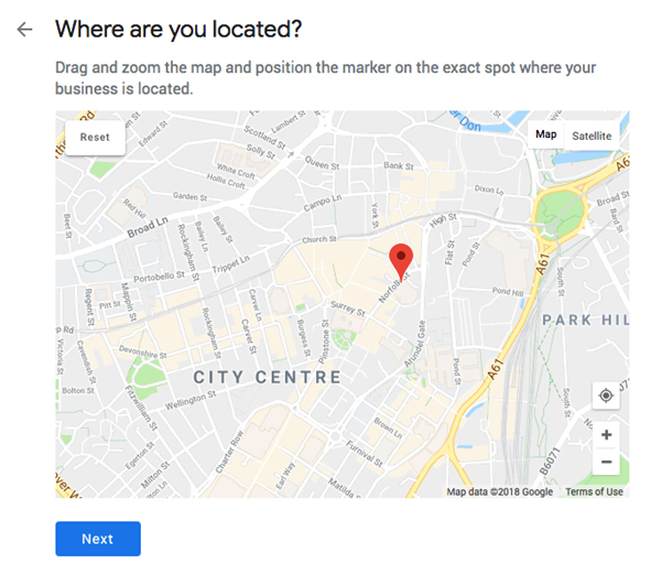 Enter your Exact Location