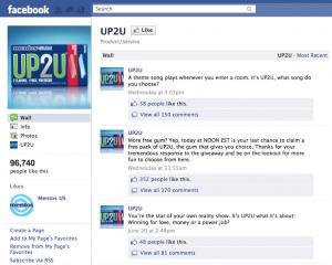UP2U Facebook