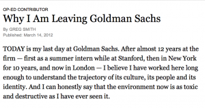 Goldman Sachs NYT article screen shot