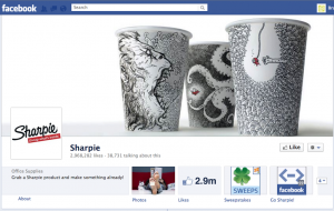 Sharpie Facebook