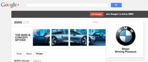 BMW on Google