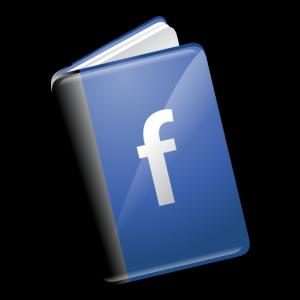 Facebook book.