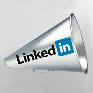 LinkedIn megaphone