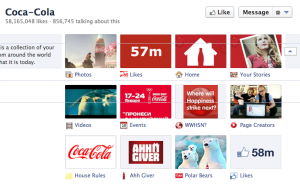 Coke Facebook Tabs