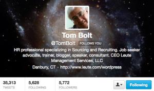 Tom Bolt Twitter