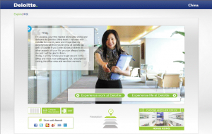 Deloitte China virtual tour