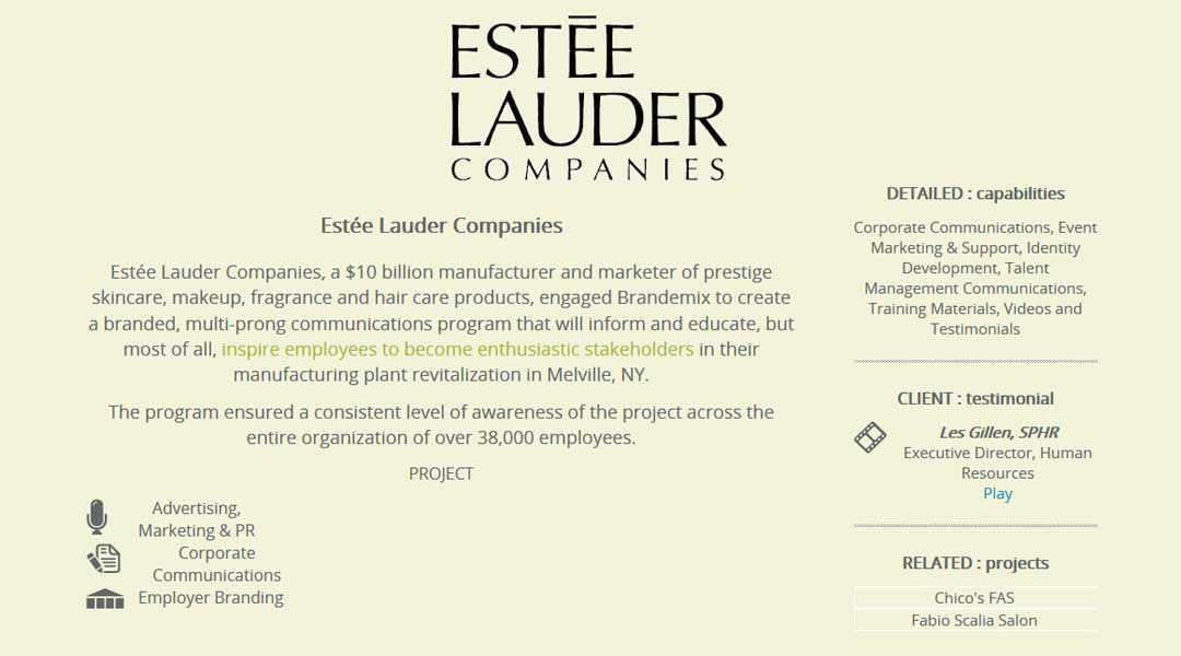 The Secret to Estee Lauder's Good Looks: Savvy Marketing and a Global Reach