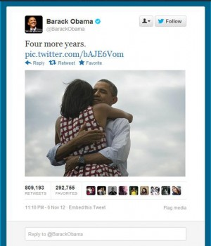Obama retweet image