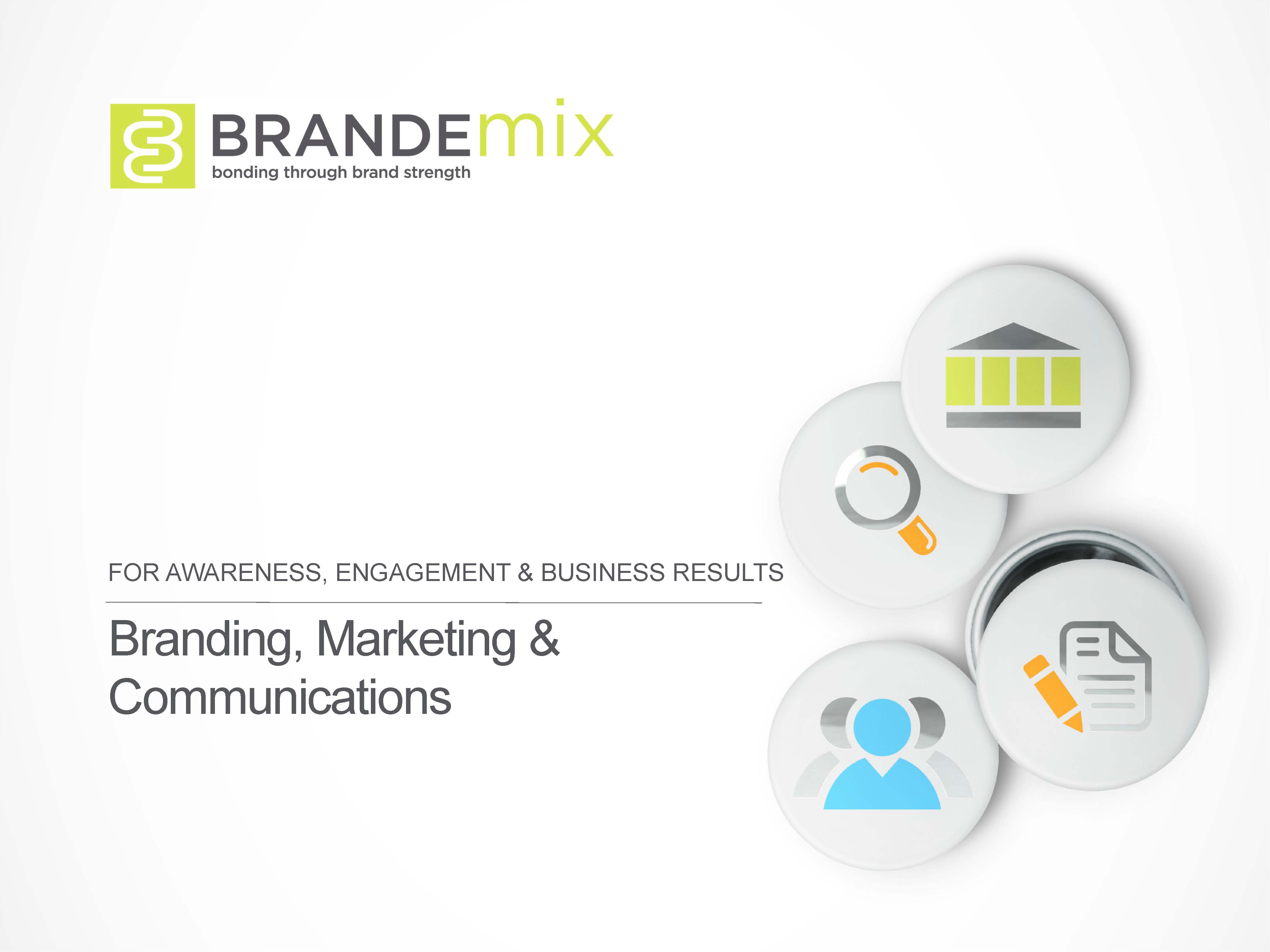 Brandemix Branding, Marketing and Communications
