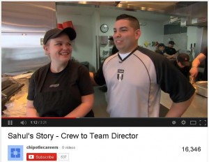 Chipotle Careers on YouTube