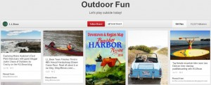 LL Bean board on Pinterest