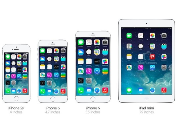 iphone ipad size comparison