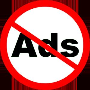 No Ads