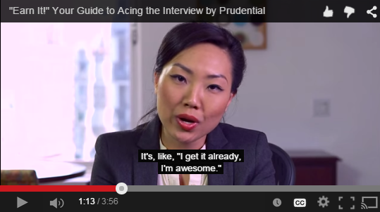 Prudential video on YouTube