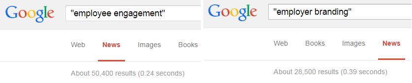 Google news comparison