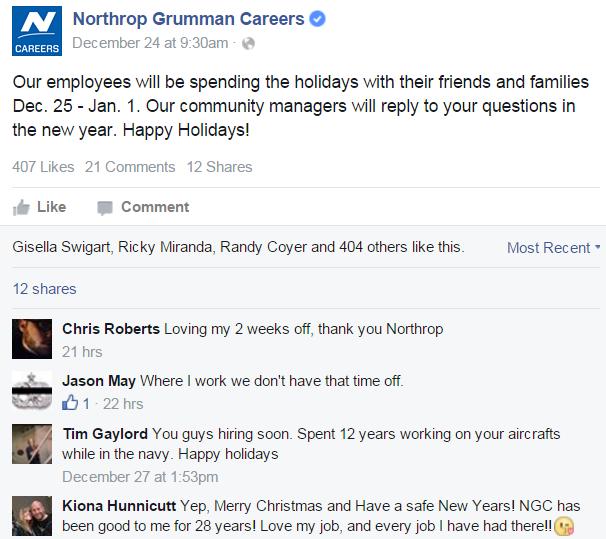 Northrop Grumman on Facebook