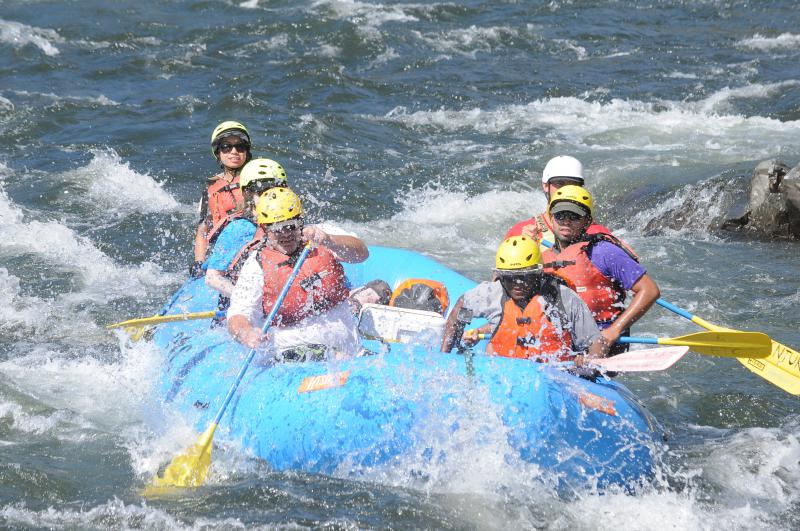 Veterans river rafting - Sierra Club Outdoors blog