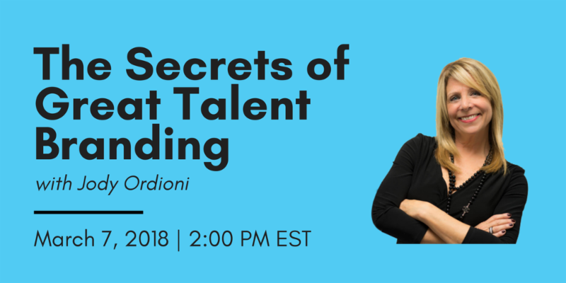 The Secrets of Great Talent Branding